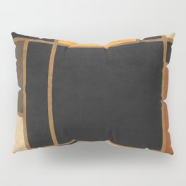 Mondrian Inspired 2 - Modernist Geometric Abstract Pillow Sham