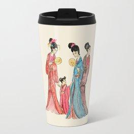 Ancient Chinese ladies painting Travel Mug