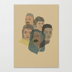 Arabian Nights Portraits Canvas Print
