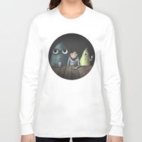 rare Long Sleeve T-shirts featuring Three rare guys by Ainaragm