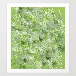 floral flower pattern Art Print