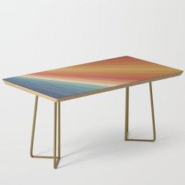 Retro 70s Sunrays Coffee Table