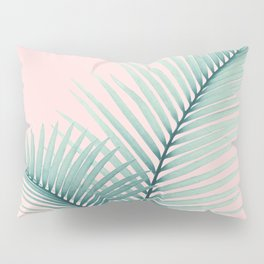 Intertwined - Palm Leaves in Love #2 #tropical #decor #art #society6 Pillow Sham