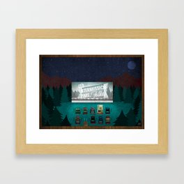 It's intermission time, folks ! Framed Art Print