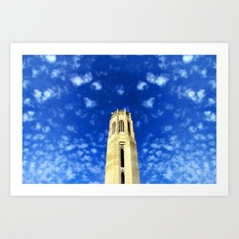 Tower and Blue Sky Art Print