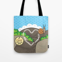Lovebugs -I have such a great slime with you Tote Bag