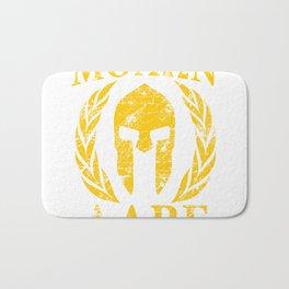Molon labe spartan tr Bath Mat