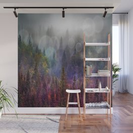 Four Seasons Forest Wall Mural