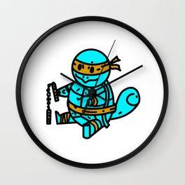 Teenage Mutant Ninja Squirtle  Wall Clock