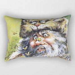 Bugged Mountain Man Rectangular Pillow