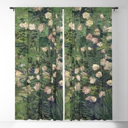 Vincent van Gogh - Roses Blackout Curtain