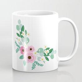 Floral Border Coffee Mug