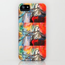 Chasing The Rain  #society6 #decor #buyart iPhone Case