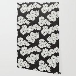 Black Hibiscus Wallpaper Wallpaper