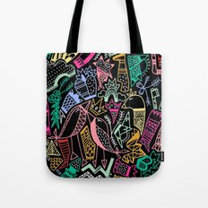 NIGHT AT THE VALLEY Tote Bag