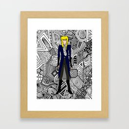 Heroes Fashion 11 Framed Art Print
