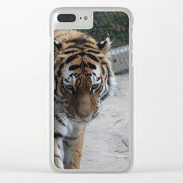 Tigress Clear iPhone Case