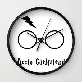 Accio Girlfriend Wall Clock