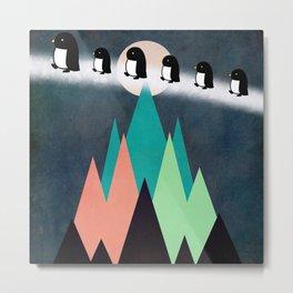 penguin12 Metal Print