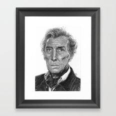Peter Cushing Framed Art Print