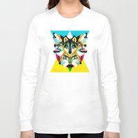 wolves Long Sleeve T-shirts featuring wolves by Alvaro Tapia Hidalgo