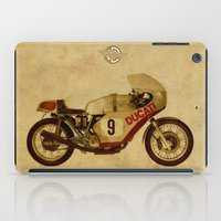 ducati iPad Cases featuring Ducati Number 9 by Larsson Stevensem
