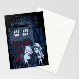 Bad wolf in gravity falls Stationery Cards