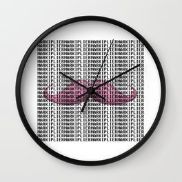 Markiplier Mustache Wall Clock