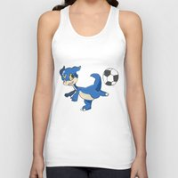 digimon Tank Tops featuring Digimon - V-mon by Hacha