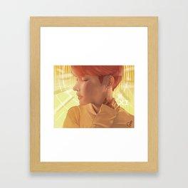 sun hoseok Framed Art Print