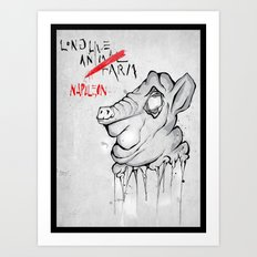 Animal Farm Art Print