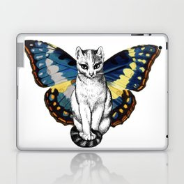 Butterfly Cat Laptop & iPad Skin