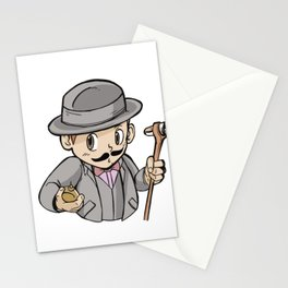 Child as a detective Stationery Cards