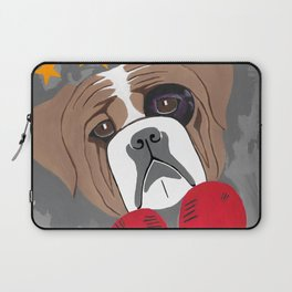 Hit Me With Your Best Shot Boxer - Dog Laptop Sleeve