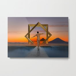 Another Way Of Vision Metal Print