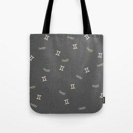 Gemini Pattern Tote Bag