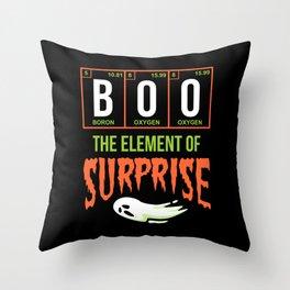 Boo Surprise Throw Pillow