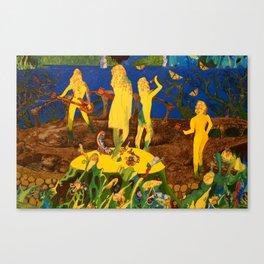 The Band/ANALOG zine Canvas Print