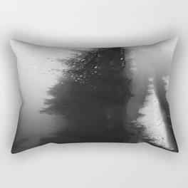 What Lies Down Hidden Rain Drenched Paths Rectangular Pillow