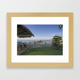 Wishing Framed Art Print