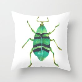 Beetle 2 Throw Pillow