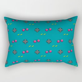 Arrows and Buttons Rectangular Pillow
