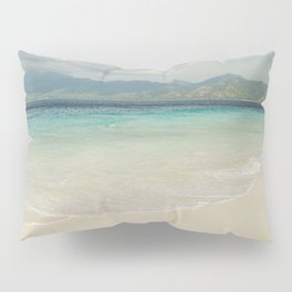 Gili meno island beach Pillow Sham