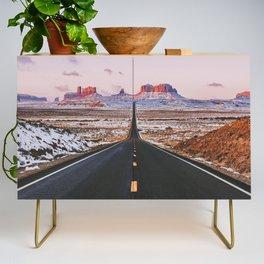 Monument Valley Sunrise Credenza