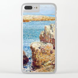 Childe Hassam Coast Scene, Isles of Shoals Clear iPhone Case
