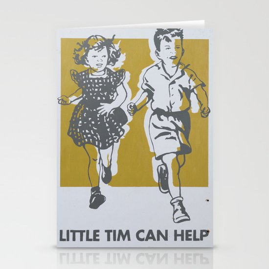Little Tim can help Stationery Cards