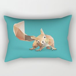 Squirrel. Rectangular Pillow