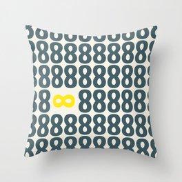 All finite - You infinite Throw Pillow