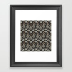 Hula Girls Framed Art Print