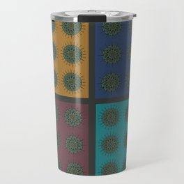 Himalayan Candy Combo - Mini Mandala Pattern Travel Mug